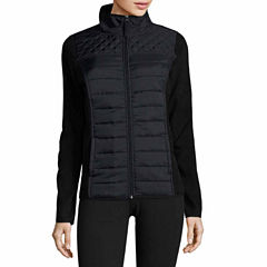 Made For Life Quilted Jacket-Petites