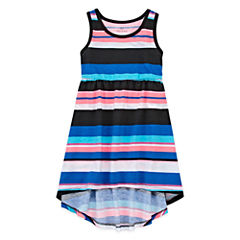 Okie Dokie Sleeveless Cap Sleeve Maxi Dress - Toddler Girls