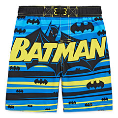 Boys Batman Trunks-Toddler