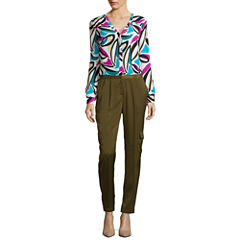 Worthington® Button-Front Blouse or Cargo Pants