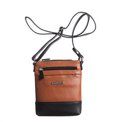Stone And Co North-South Slip Pocket Pebble Leather Mini Crossbody Bag