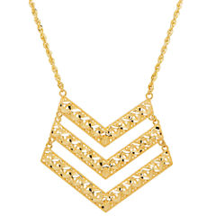 Limited Quantities! Womens 14K Chevron Necklaces
