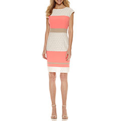 Studio 1 Sleeveless Sheath Dress