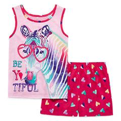 2-pc. Shorts Pajama Set Girls