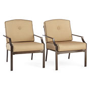 Stationary Cushion Sofa Chair - Set of 2