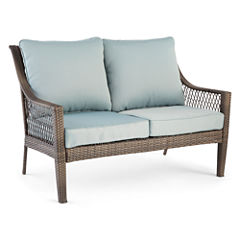 Outdoor Oasis™ Latigo Wicker Loveseat