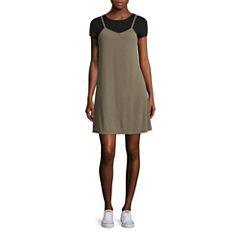 Arizona Tee + Rib Slip Dress- Juniors