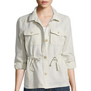 Liz Claiborne® Long-Sleeve Anorak Jacket