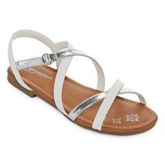 Arizona Senna Girls Strap Sandals - Little Kids