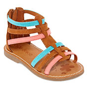 Okie Dokie Elate Girls Flat Sandals