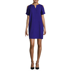 Worthington Cold Shoulder Shift Dress