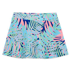 Total Girl Pattern Knit Skorts - Preschool Girls