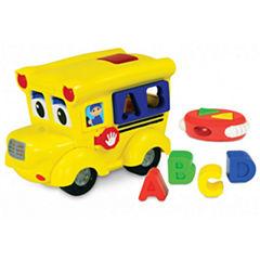 The Learning JourneyRemote Control Shape Sorter, Letterland School Bus
