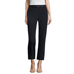 Liz Claiborne® Belted Emma Ankle Pants
