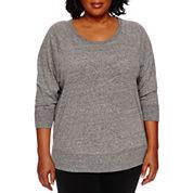Made For Life 3/4 Sleeve Sweatshirt-Plus