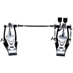 Union DDPD-669 700 Series Double Chain Double Bass Drum Pedal + Bag