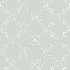 Quatrefoil Peel-and-Stick tick Wallpaper