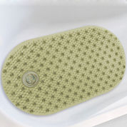 Bubble Tub Mat with Hair Catcher