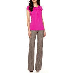 Worthington® Twist-Front Blouse or Modern-Fit Pants