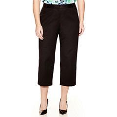Liz Claiborne® Classic Emma Ankle Pants - Plus