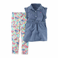 Carter's 2-pc. Legging Set Girls