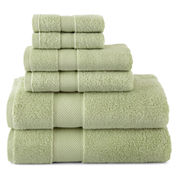 Liz Claiborne® MicroCotton® 6-pc. Bath Towel Set