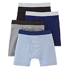 Arizona 4-pk. Boxer Briefs – Boys 2-20