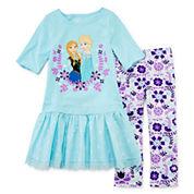 Disney Collection Frozen Dress Set - Girls 2-10