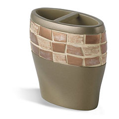 Popular Bath Mosaic Stone Toothbrush Holder