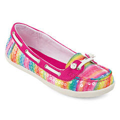 Arizona Betsy Girls Boat Shoes - Little Kids