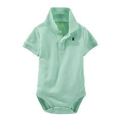 OshKosh B'gosh® Short-Sleeve Polo Bodysuit - Baby Boys 3m-24m