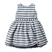 Carter's® Sleeveless Striped Sateen Dress - Baby Girls newborn-24m
