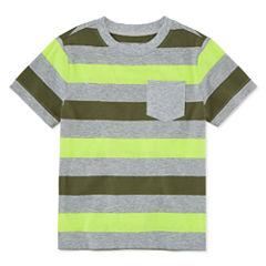 Okie Dokie Short-Sleeve Striped T-Shirt - Toddler 2T-5T