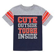 Okie Dokie Short-Sleeve Football T-Shirt - Toddler 2T-5T