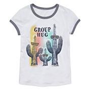 Arizona Girls Short Sleeve Graphic T-Shirt - Girls' 7-16 and Plus