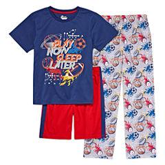 3-pc. Kids Sport Pajama Set Boys