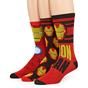 Marvel® Ironman 3-pk. Crew Socks