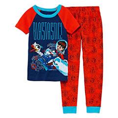 Disney Miles SL Pant Pajama Set Boys