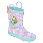 Disney Collection Frozen Rain Boots - Girls