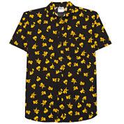 Novelty Season Pikachu Big Pattern Front Shirt