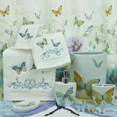 Bacova Guild Watercolor Garden Bath Collection