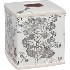 Creative Bath™ Sketchbook Botanical Toile Tissue Cover