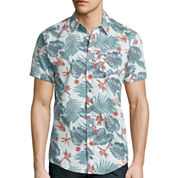 DC Shoes® Floral Short-Sleeve Woven Shirt