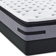 Sealy® Posturepedic Jamarion Cushion Firm Euro Pillow-Top - Mattress + Box Spring