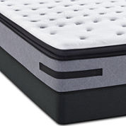 Sealy® Posturepedic Jamarion  Plush Euro Pillow-Top - Mattress + Box Spring