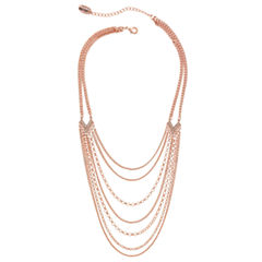 Nicole By Nicole Miller 20 Inch Chain Necklace