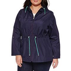Details Parka In A Pocket Raincoat- Plus