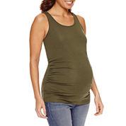 a.n.a Knit Tank Top-Maternity