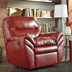 Signature Design by Ashley® Tassler Durablend® Pad Arm Rocker Recliner