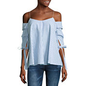 i jeans by Buffalo Draped Off Shoulder Top